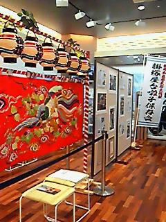 掛塚貴船神社のお祭りの展示