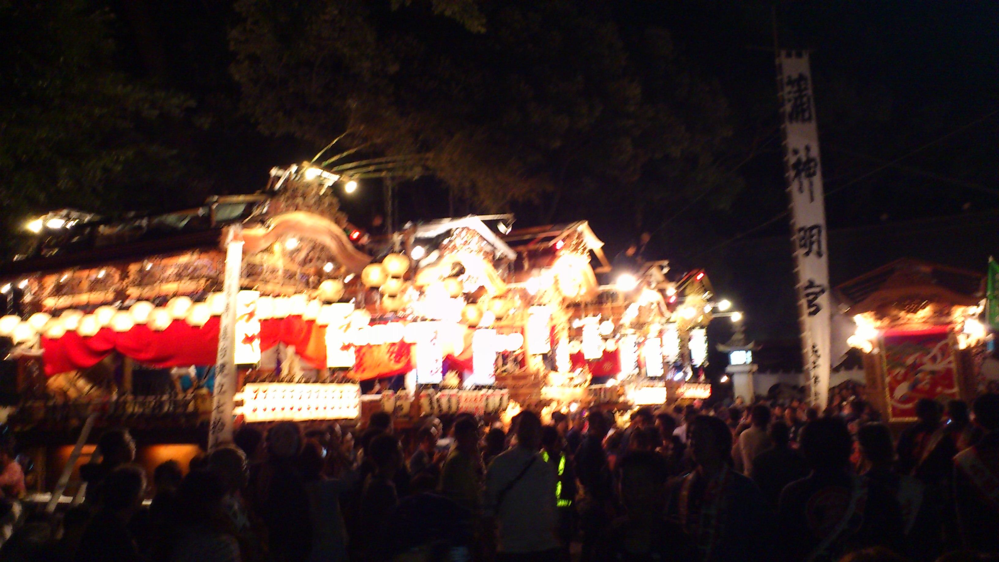 2011 蒲神明宮のお祭り 2