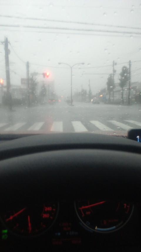 浜松台風接近中